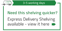 Express Shelving Bays - Click here to find out more