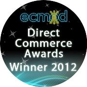 Direct commerce Awards winner 2012
