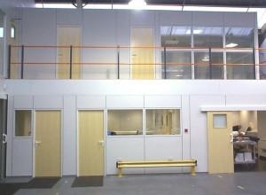 Completed mezzanine