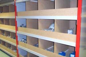 Just Shelving storage bins