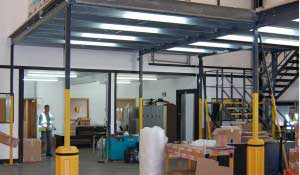 Mezzanine floor in Essex