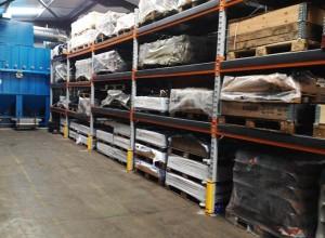 GT Bunning pallet racking installation