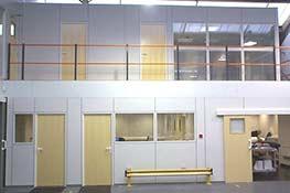 Mezzanine completed