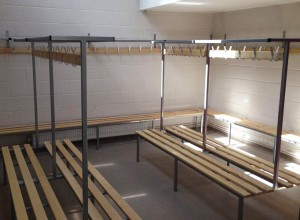 Thurston Golf Club changing room benches