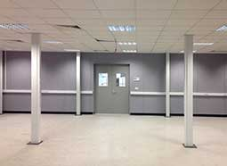 steel partitioning project