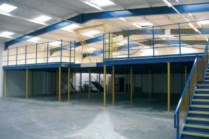 Mezzanine_Floor_with_Pallet_Gate