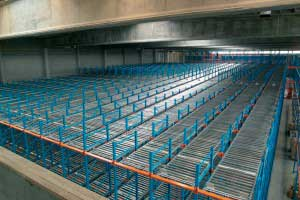 Pallet_Live_Storage_Picking_Lanes