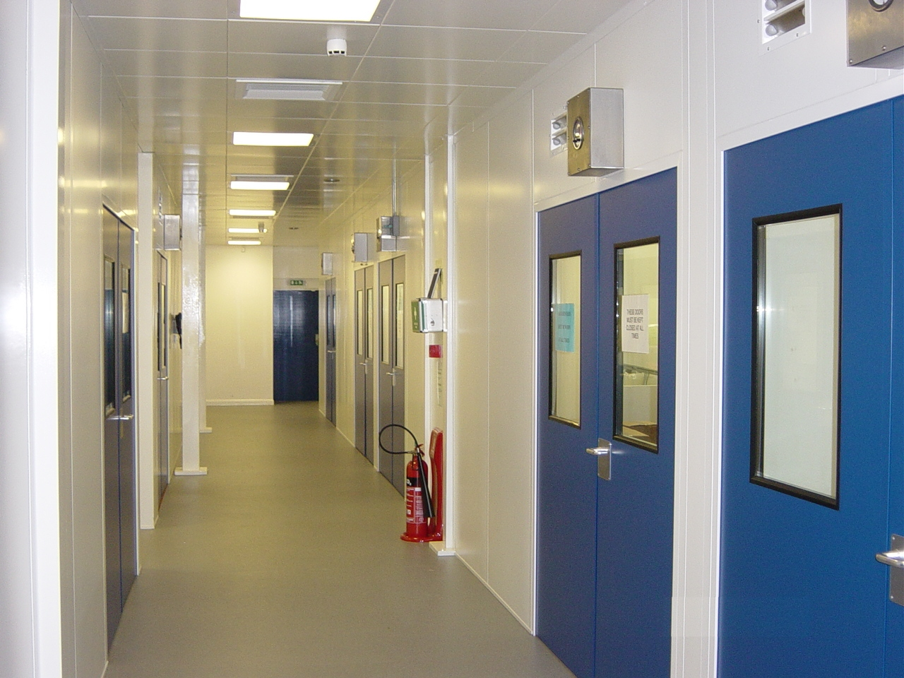 cleanroom partitioning ese projects mezzanine floor installation