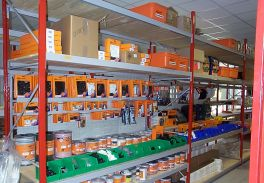 british standard industrial angle shelving or slotted angle shelving