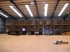 Three Tier Pallet racking floor