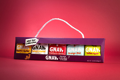 Gnaw Mini Bar Chocolate Collection