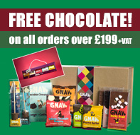 Get Gnaw Chocolates FREE with every order with us over 199 pounds + VAT