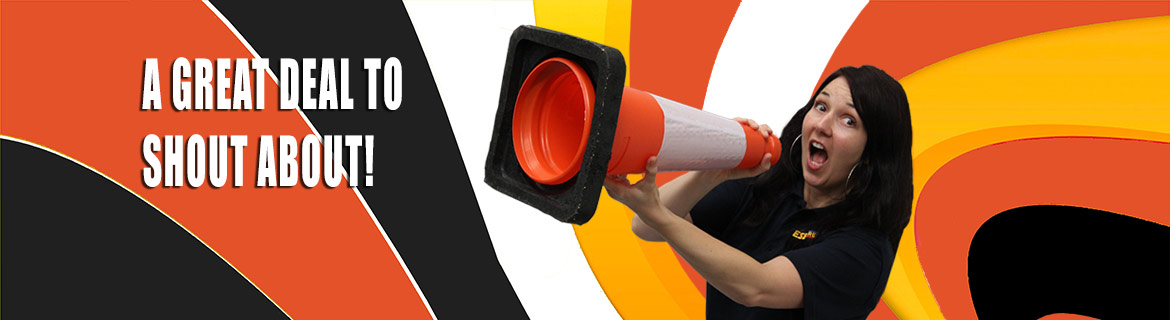 10% off all traffic cones - available throughout October