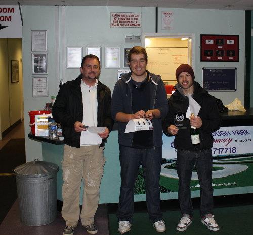 Adam, Nick and Darren