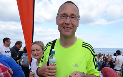 ESE Finance Director completes the Great North Run
