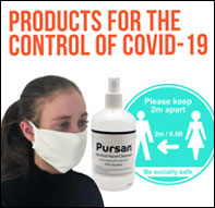 Products for the control of Covid-19