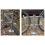 Universal Bike Storage Racks - Post Mount