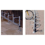 Universal Bike Storage Racks - Rail Mount