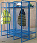 WML02Z - Double Sided Wire Mesh Lockers