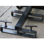 Magnum Salt Spreader Forklift Attachment