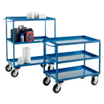 Heavy Duty Tray Trolleys