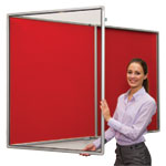 Flame Shield Lockable Tamperproof Noticeboards