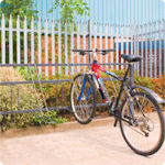 Traditional cycle racks