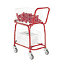 2 Tier Mailroom Trolleys With 2 Removable Baskets