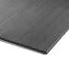 6mm thick fine fluted rubber matting