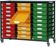 Metal 27 Tray Rack
