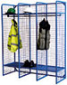 WML01Z - Single Sided Wire Mesh Lockers