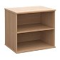 Desk High Primary Storage Bookcase