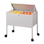 A4 Suspension File Trolley with Lockable Lid