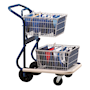 GT mail delivery trolley - 80kg capacity