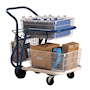 GT mail delivery trolley - 100kg capacity