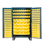 JC-171 - Jumbo storage cabinet with 171 hook on bins