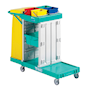 Standard mobile cleaning trolley