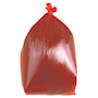 Red Bin Bags 90L - Box of 200 bags
