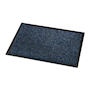 Cosmo fire tested entrance mat - 600 x 900mm - grey & blue