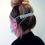 Ear Loop Mask Extender, white, pack of 10