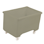 Grey plastic 270L container truck
