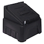 Heavy-Duty Black Grit Bin - 200kg capacity