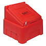 Heavy-Duty Red Grit Bin - 200kg capacity