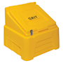 Heavy-Duty Yellow Grit Bin - 200kg capacity
