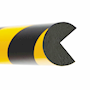 Self Adhesive Rounded Impact Protection Edge Profiles - 1m Lengths