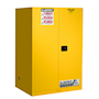 Justrite Sure-Grip EX Flammable Storage Cabinet manual close 341L