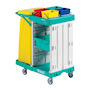 Basic mobile cleaning trolley
