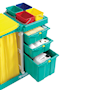 multi-purpose mobile cleaning trolley