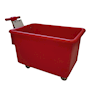 Premium Food Grade 320L Tapered Truck With Handle