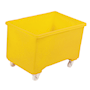 Yellow plastic 270L container truck